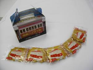 箱館ハイカラ號サブレの写真